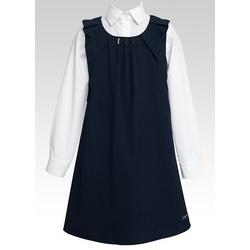 Granatowa sukienka dziewczęca SLY
