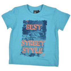 T-shirt turkus Street Style - LOSAN