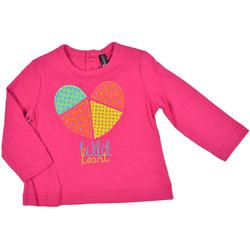 Amarantowa bluzka dla dziewczynki - LOSAN