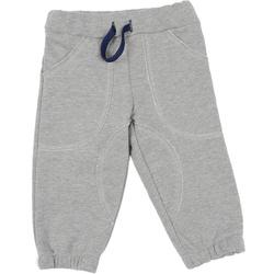 Spodnie chłopięce ocieplane szare
