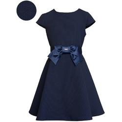 Sukienka dla dziewczynki granatowa - SLY
