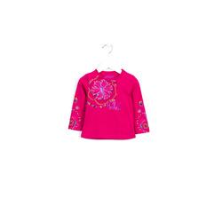 Amarantowa bluzka dla dziewczynki LOSAN