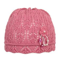 Ażurowa czapka dla dziewczynki EKO