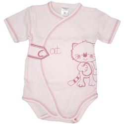 Body niemowlęce Mikulinek różowe