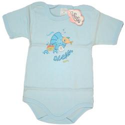 Rampers niemowlęcy ASIA niebieski