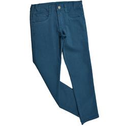 Spodnie chłopięce kolor morski