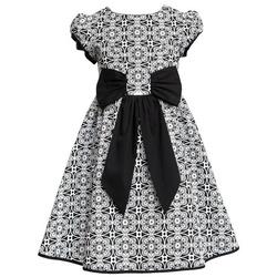 Sukiena dla dziewczynki z kokardą