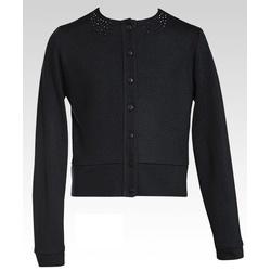 Czarny sweterek z jetami