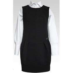 Sukienka czarna dziewczęca - SLY