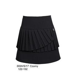 Czarna spódnica dziewczęca SLY