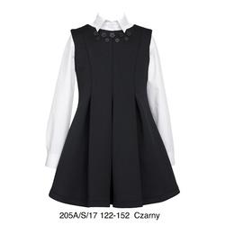 Czarna sukienka dziewczęca SLY