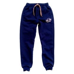 Granatowe spodnie dresowe