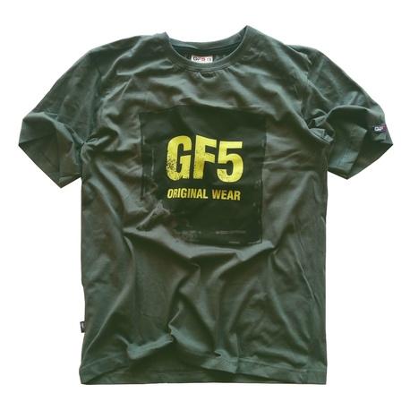 Ciemno -zielony t -shirt dla chłopca