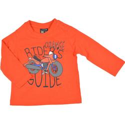 Bluza chłopięca pomarańczowa -LOSAN