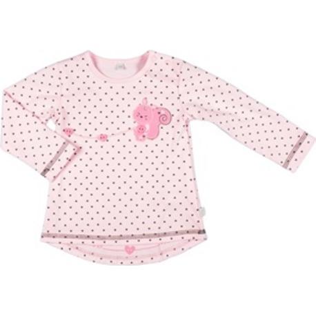 Różowa bluzeczka z wiewiórką MMDadak