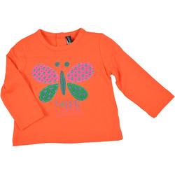 Bluzka dla dziewczynki pomarańczowa - LOSAN