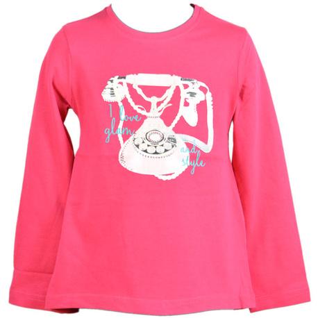 Amarantowa tunika dla dziewczynki - LOSAN