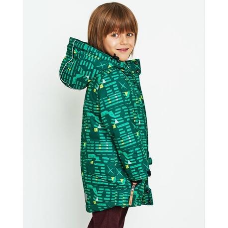 Zielona kurtka zimowa dla chłopca NATIVO