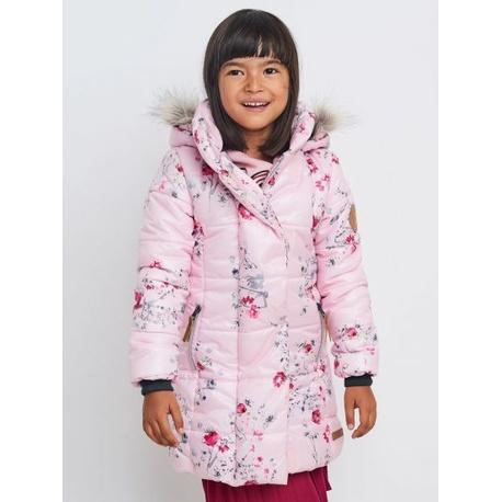 Różowy płaszczyk dla dziewczynki NATIVO