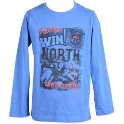 Bluza dla chłopca niebieska - LOSAN