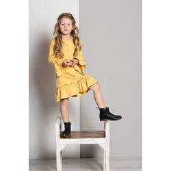 Sukienka Frilka miodowa - LUMIDE