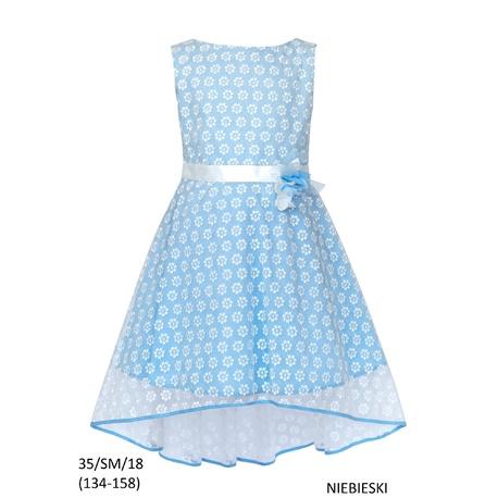 Elegancka Sukienka 35/SM/18, sklep, sukienka na komunię