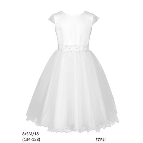 48e2f9d11b Sukienka dziewczęca na komunię 134-158