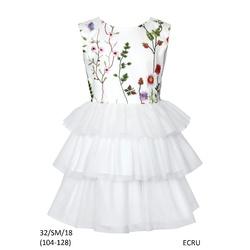 Wizytowa Sukienka dziewczęca 32/SM/18, rozmiary 104-128, sklep internetowy