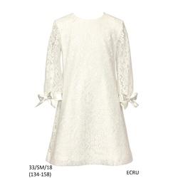 Sukienka pokomunijna, ecru,SLY, wesele, sklep internetowy