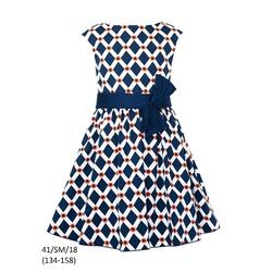 Granatowa sukienka dla dziewczynki SLY