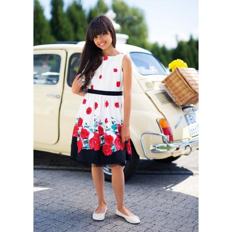 Elegancka Sukienka w kwiaty,SLY, sklep internetowy