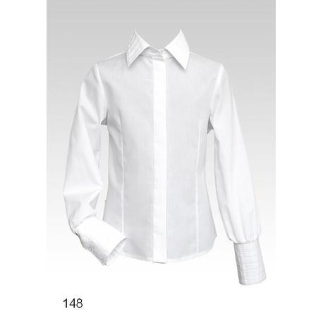 Biała bluzka szklona, wizytowa,elegancka,sklep internetowy