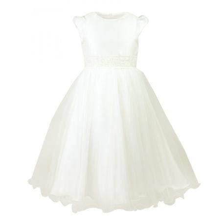 Sukienka Delfina Kremowa, na komunię, sklep