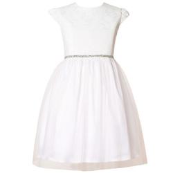 Żakardowa sukieneczka z tiulem EMMA
