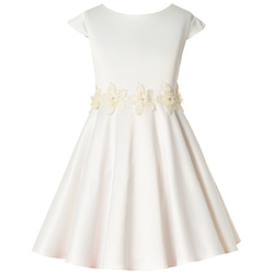 Sukienka dla dziewczynki, M/186/ Neli, ecru, sklep internetowy