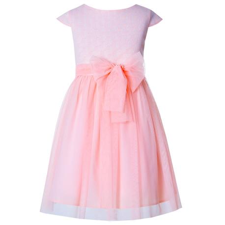 Sukieneczka w kolorze morelowym, M/34/sukienka Francesca