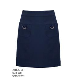 Granatowa spódniczka dla dziewczynki 301B/S/18