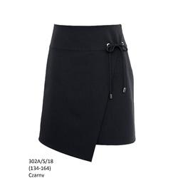 Czarna spódnica dla dziewczynki 302A/S/18