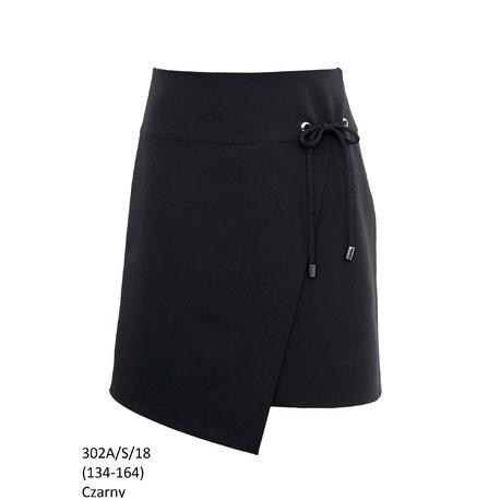 Czarna spódnica dla dziewczynki 302A/S/18,SLY, do szkoły,sklep internetowy