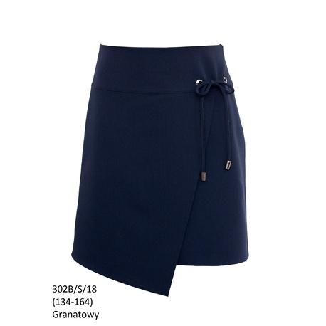 Granatowa spódniczka galowa 302B/S/18,spódniczki dziecięce