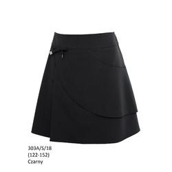 Czarna spódniczka galowa 303A/S/18