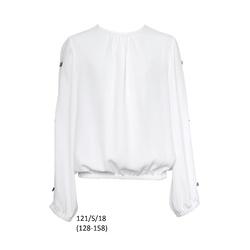 Bluzka dla dziewczynki wizytowa 121/S/18