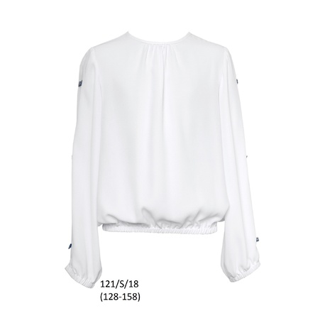 Bluzka dla dziewczynki 121/S/18,SLY,ubranka wizytowe