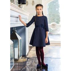 Granatowa sukienka szkolna 204/S/18