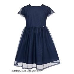 Sukienka dziewczęca szkolna,wizytowa, okolicznościowa 208/S/18