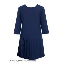 Sukienka dziewczęca szkolna,wizytowa 209/S/18