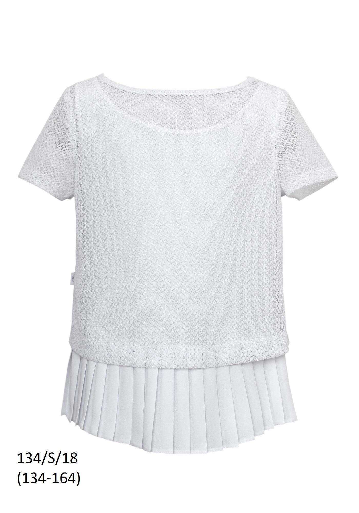 160a33502d Biała bluzka szkolna