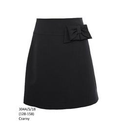 Spódnica Szkolna Dziewczęca,wizytowa,okolicznościowa 304A/S/18,czarna, galowa,sklep
