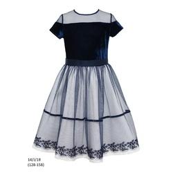 Sukienka dziewczęca 14/J/18 okolicznościowa,wizytowa,weselna, świąteczna, SLY
