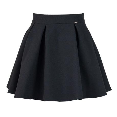 Spódnica Wanda czarna,szkolna, galowa, rozkloszowana